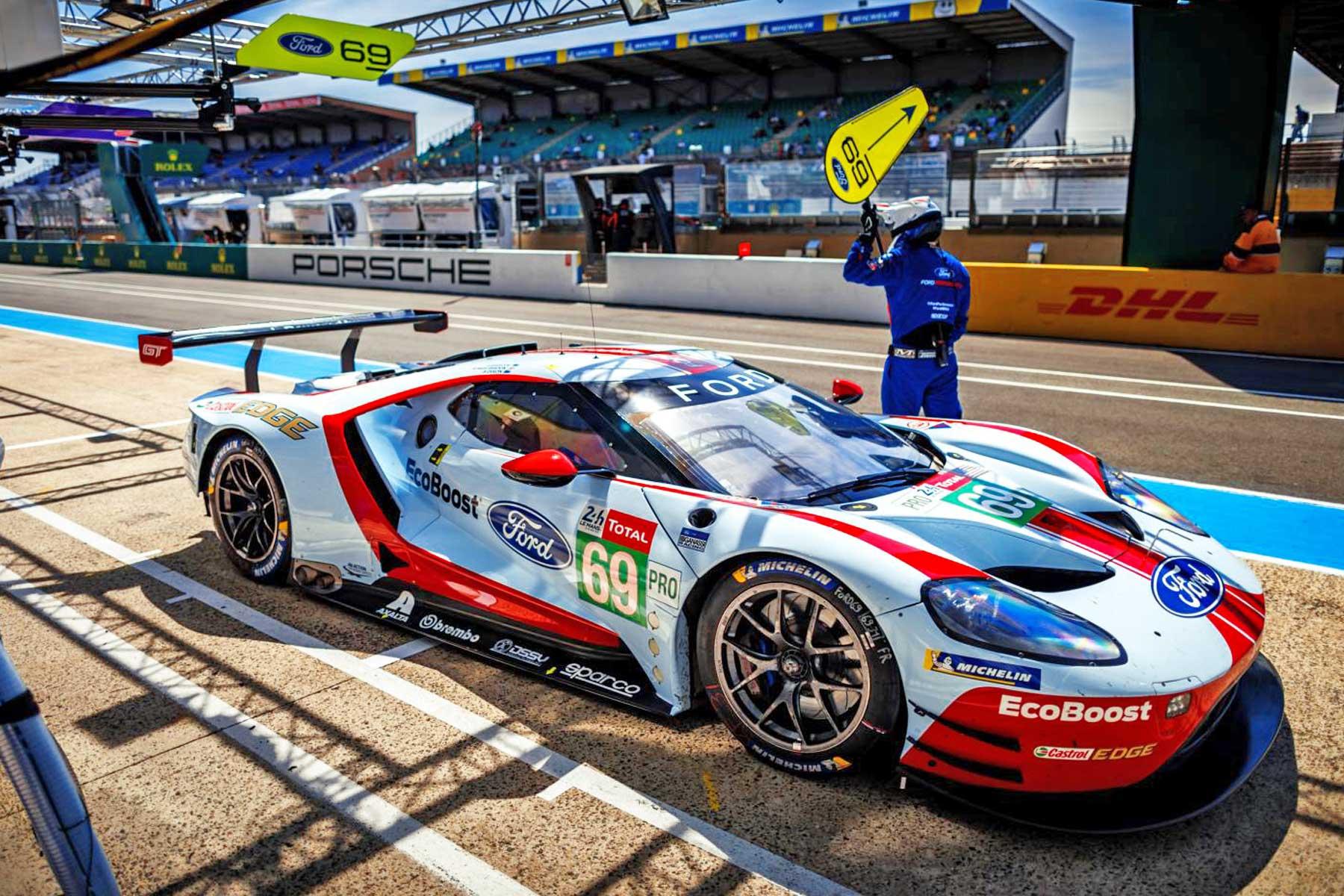 Le Mans – Kør selv – Opstillet telt